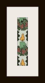 PDF schema bracciale Natale in stitch peyote pattern - solo per uso personale .