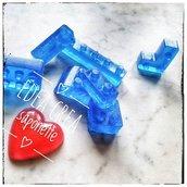 Saponetta glitter Lego