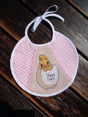 Bavaglino Pasquale per neonato (0-3 mesi)