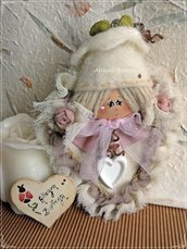 Cartamodello Alice, bambolina profuma armadio