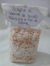 SACCHETTI SCAGLIE SAPONE MARSIGLIA & FIORI DI COTONE