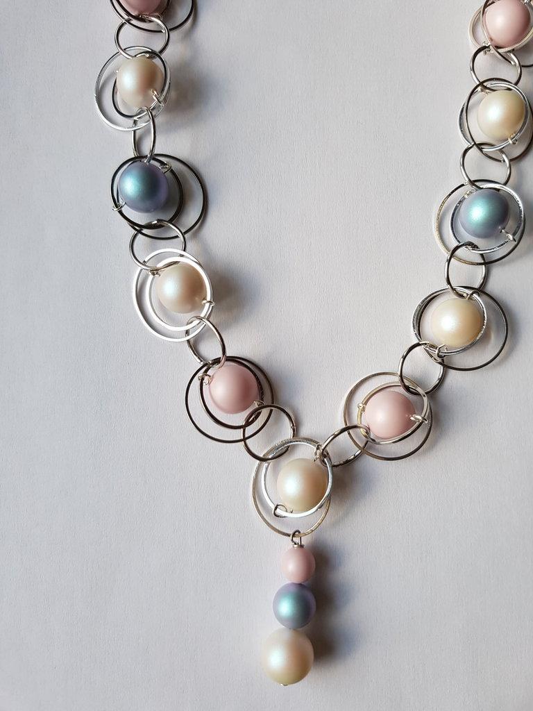 Collana Circles & Pearls