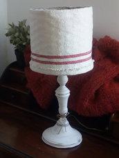 """Lampada in stile provenzale """"Sacco di Farina"""""""