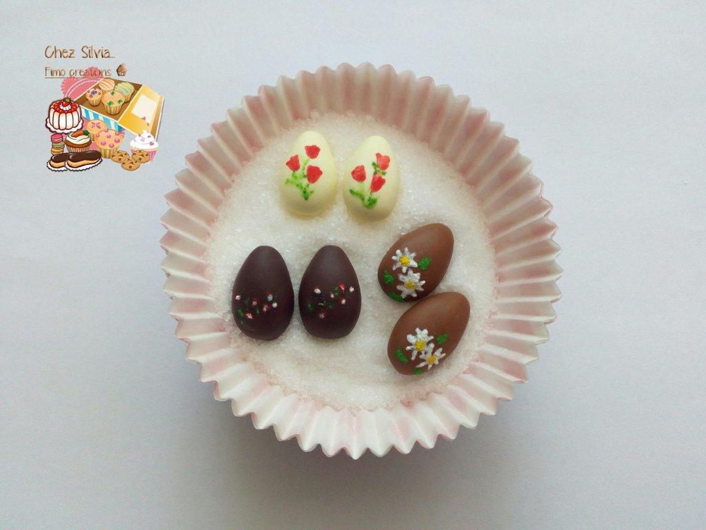 Set orecchini uova di cioccolato 😋
