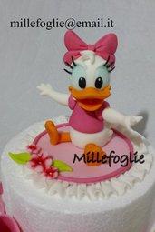 Decorazione Torta/Cake topper P a p e r i n a baby in zucchero