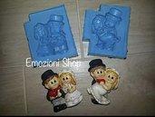 Stampi sposini due pezzi