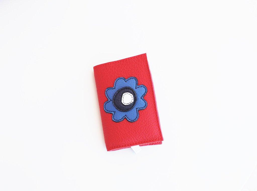 Mini Portafoglio di Vera Pelle. Modello Liana. Da personalizzare