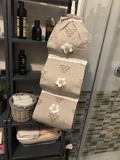 Porta rotoli carta igienica