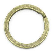 10 Anelli per portachiavi 25mm bronzo