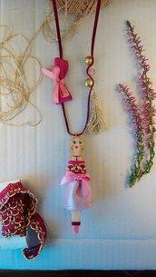 Ciondolo Bambola Violetta