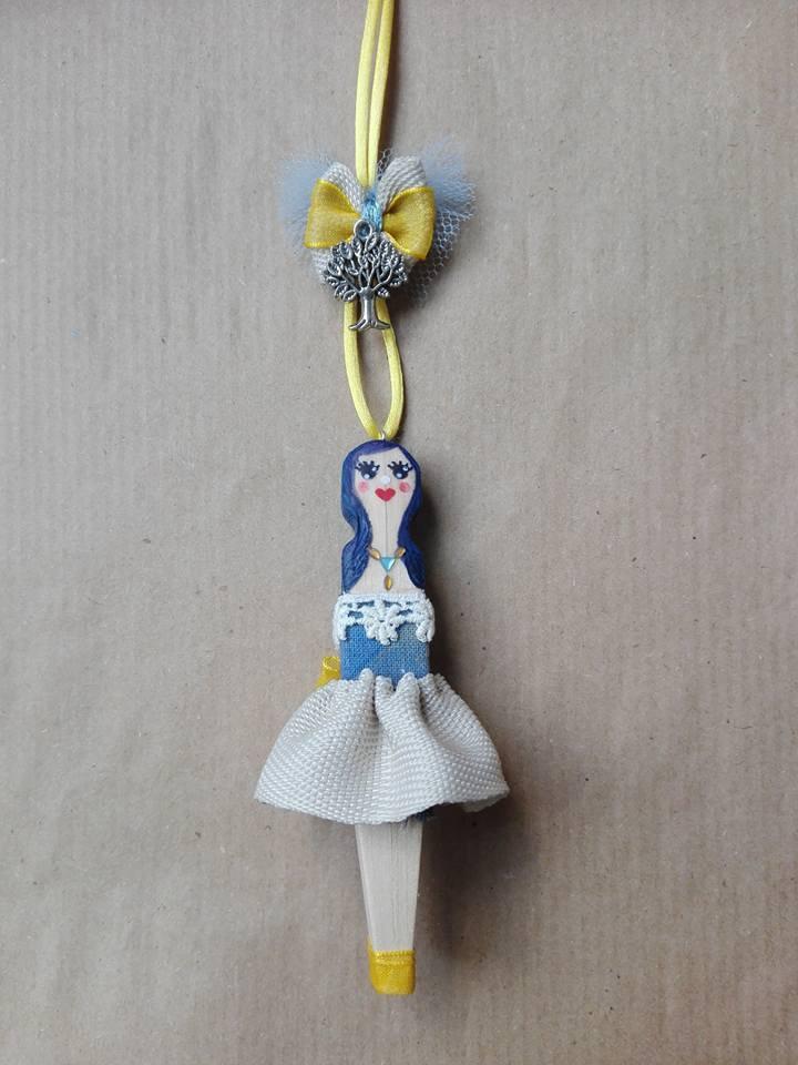 Ciondolo Bambola Turchina