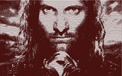Aragorn Photo stich embroidery design, ricamo digitale. INSTANT DOWNLOAD pdf + zip