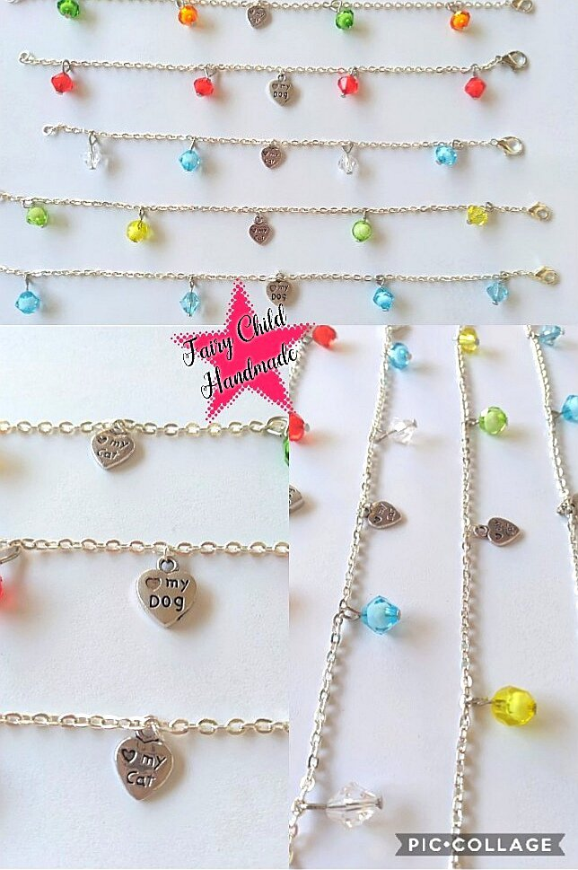 Braccialetti love dog & love cat