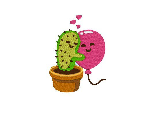 Abbraccio cactus, ricamo digitale, hug embroidery design. INSTANT DOWNLOAD