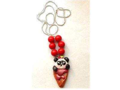 Collana panda goloso (gelato kawaii)