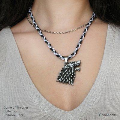 COLLANA STARK 2 - Collezione Game of Thrones / Il Trono di Spade