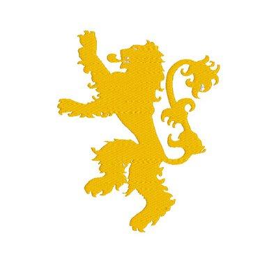 Stemma Casa lannister, ricamo digitale, Lannister embroidery design. INSTANT DOWNLOAD pdf + zip