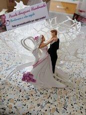 Bomboniera matrimonio in polvere di ceramica profumata