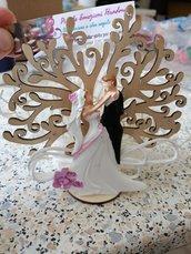 bomboniera albero della vita matrimonio