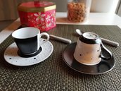 """Tazzina caffè """"black&white"""""""
