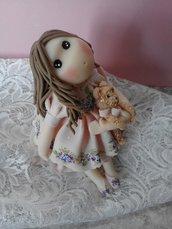 Bambolina porcellana fredda