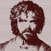 Tyrion Lannister photo stich embroidery design, il trono di spade ricamo digitale. INSTANT DOWNLOAD pdf + zip