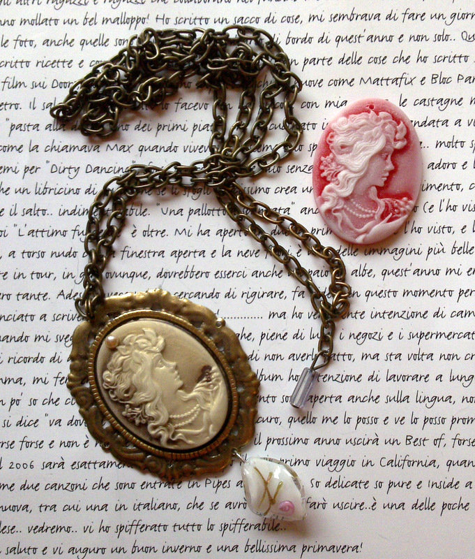 Collana Cameo Bronze