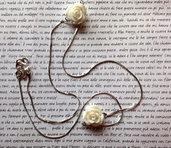 Collana White Roses