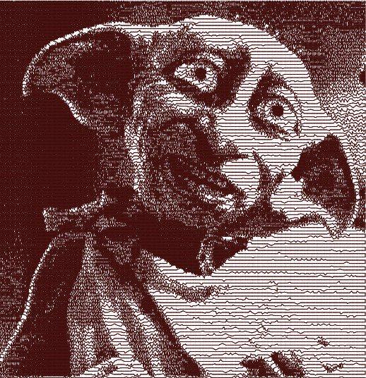 Dobby elfo domestico photo stich embroidery design, ricamo digitale. INSTANT DOWNLOAD zip + pdf