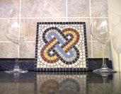 KIT mosaico fai da te  NODO DI SALOMONE