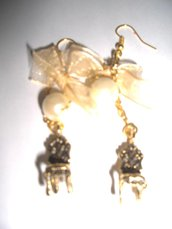 orecchini sedia barocca