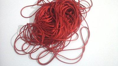 Cordoncino per catenelle portaciuccio o collane da allattamento, 5 metri,  rosso