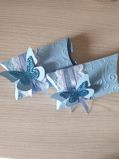 Bomboniera scatolina in cartoncino per cerimonia