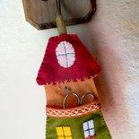 Porta forbici - Casetta delle fate