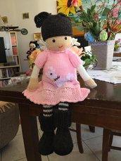 bambola in lana Francesca