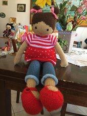 bambola in lana Martina