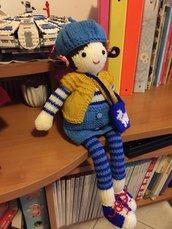 bambola ai ferri Carlotta