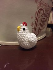 portachiavi a gallinella