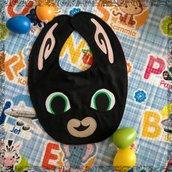 Bavaglino BING, bavaglini impermeabili, bavaglini personalizzati, regalo originale per il bebé