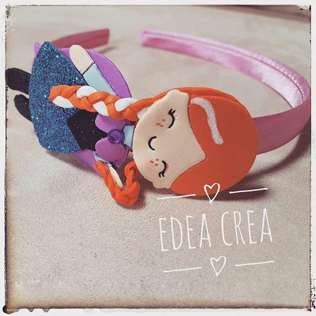 Cerchietto Anna Frozen