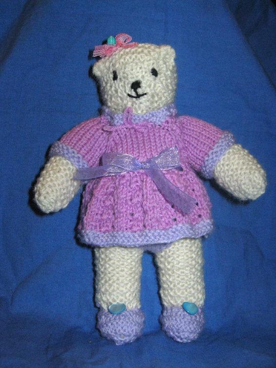 Milly teddy bear orsetta di maglia