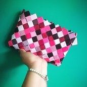 Pochette in carta mix rosa