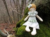 Bambola di stoffa – Bambola di pezza – Bambola fatta a mano