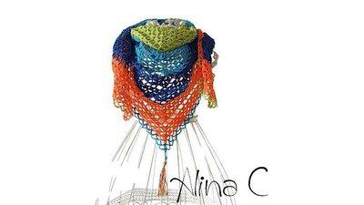 Scialle pareo all'uncinetto Vivace in cotone, multicolor, moda donna, ragazza, moda estate, accessori