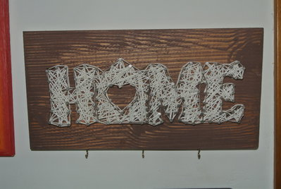 quadro string art HOME