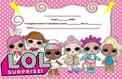LOL SURPRISE sorpresa compleanno party festa inviti Printable-Invito digitale
