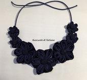 Collana kanzashi con fiori 3.7