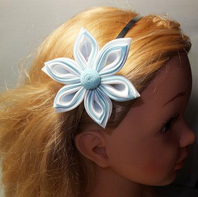 Fiore di raso per capelli 5.3 - Donna - Accessori - di ...