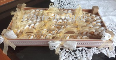 Confetti decorati 50° Matrimonio