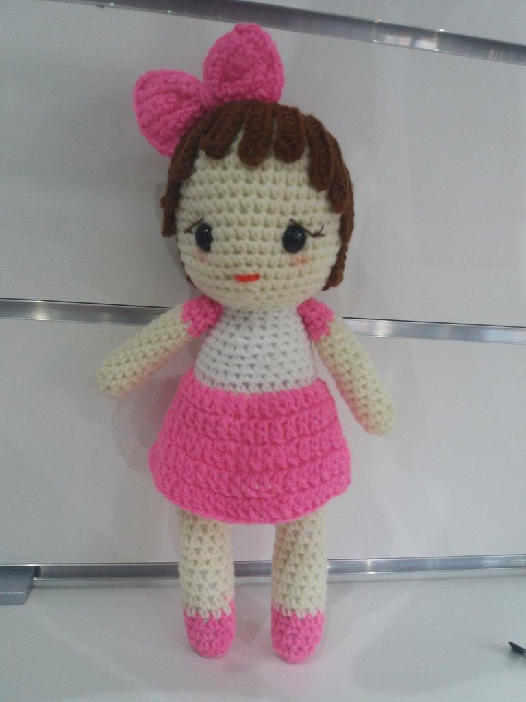 Milly ...Bambolina realizzata a mano